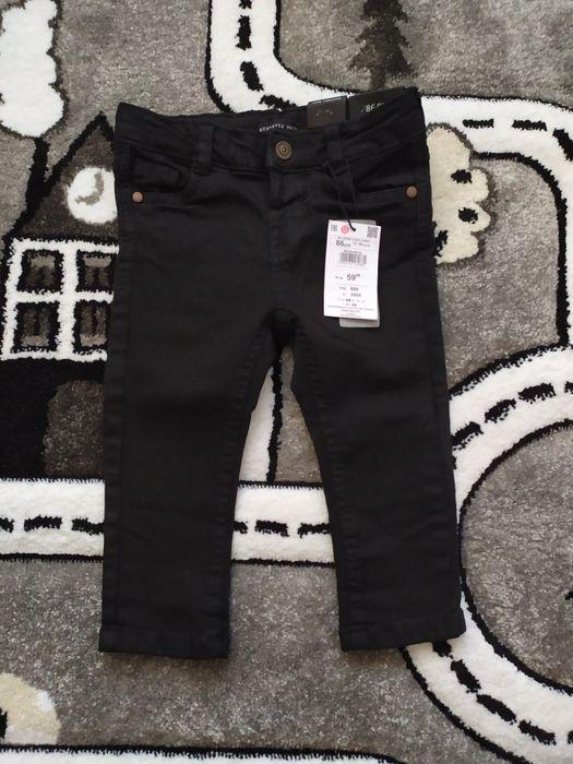 Czarne spodnie Reserved 86 Latowicz - image 1