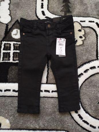 Czarne spodnie Reserved 86