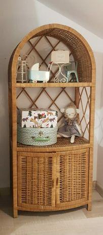 Półka wiklinowa szafeczka bardzo ładna