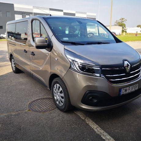 Wynajem Busów-nowe komfortowe Renault  Trafic 2,0 DCI-2021r
