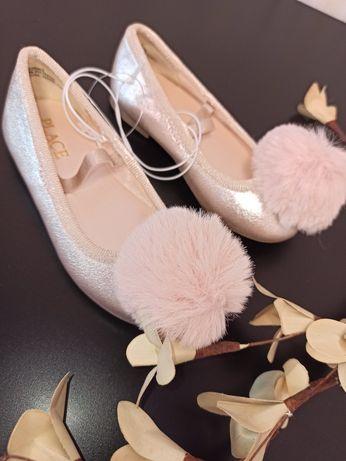 Туфельки балетки туфли для девочки