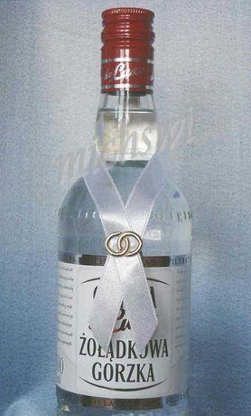 Zawieszki na butelki butelkę kokardki etykiety alkohol wodke