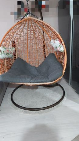 Fotel dwuosobowy wiszący