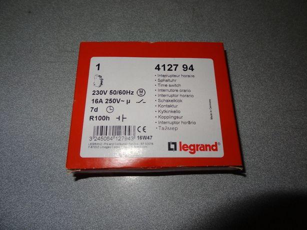 interruptor horário legrand 412794 de 16A 7dias R100h novo