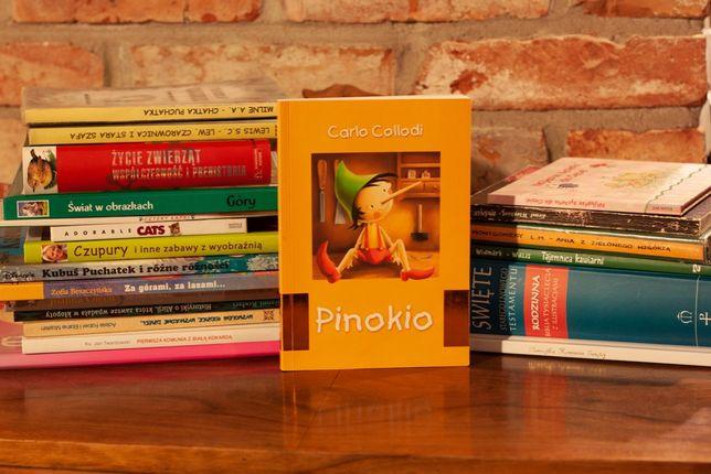 Klasyka literatury dla dzieci , Pinokio, Grimm