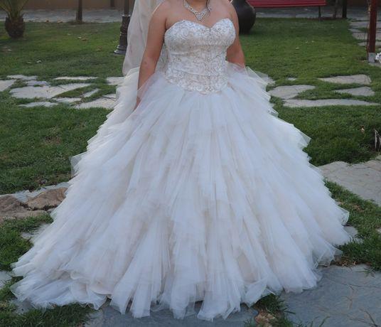 Vestido de noiva - Pérola Branca