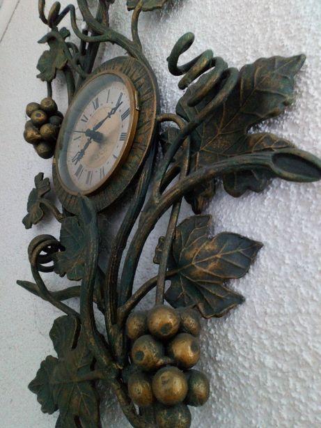 Zegar ścienny metal