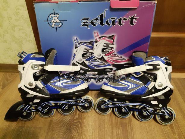 Ролики ZELART для хлопчика 36-39