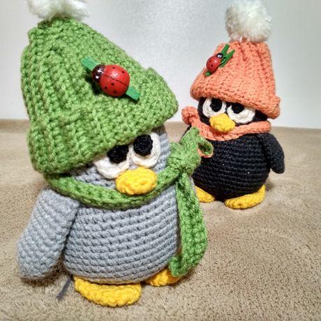 Вязанные игрушки для детей и для декора