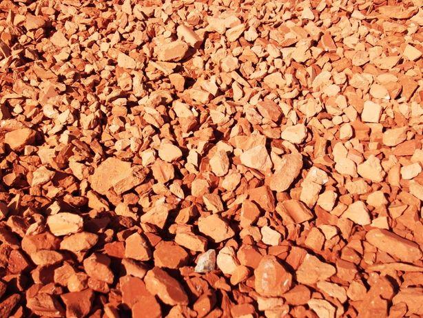 Pedra Decorativa Brita Tijolo 160€/T