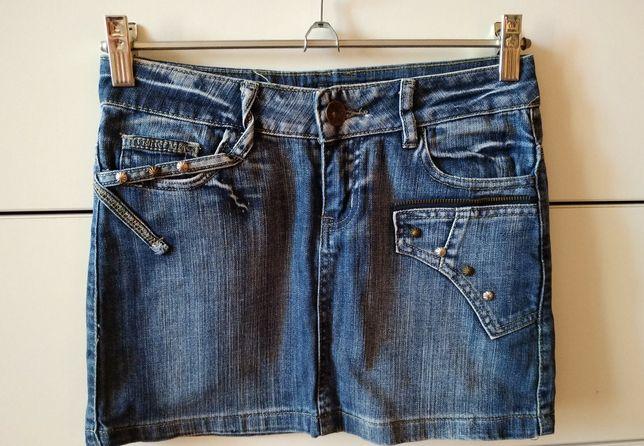 джинсовая короткая юбка мини девчачья