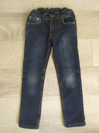 Теплые джинсы на флисе для мальчика