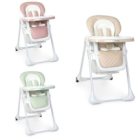 Детский стульчик для кормления с регулируемой спинкой и матрасиком.