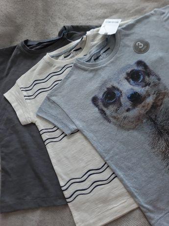 NEXT 3 nowe koszulki 98cm, 2-3 lata