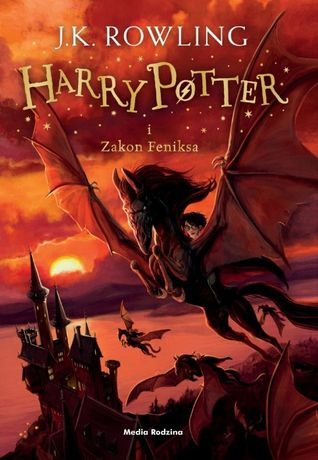 Harry Potter i Zakon Feniksa - J.K. Rowling - oprawa MIĘKKA