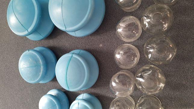 Gumowe chińskie bańki do akupunktury