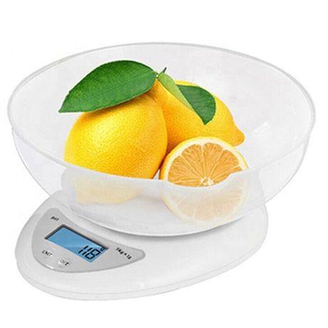 Весы кухонные с чашей / Ваги кухонні з чашею Kitchen B05, до 5 кг