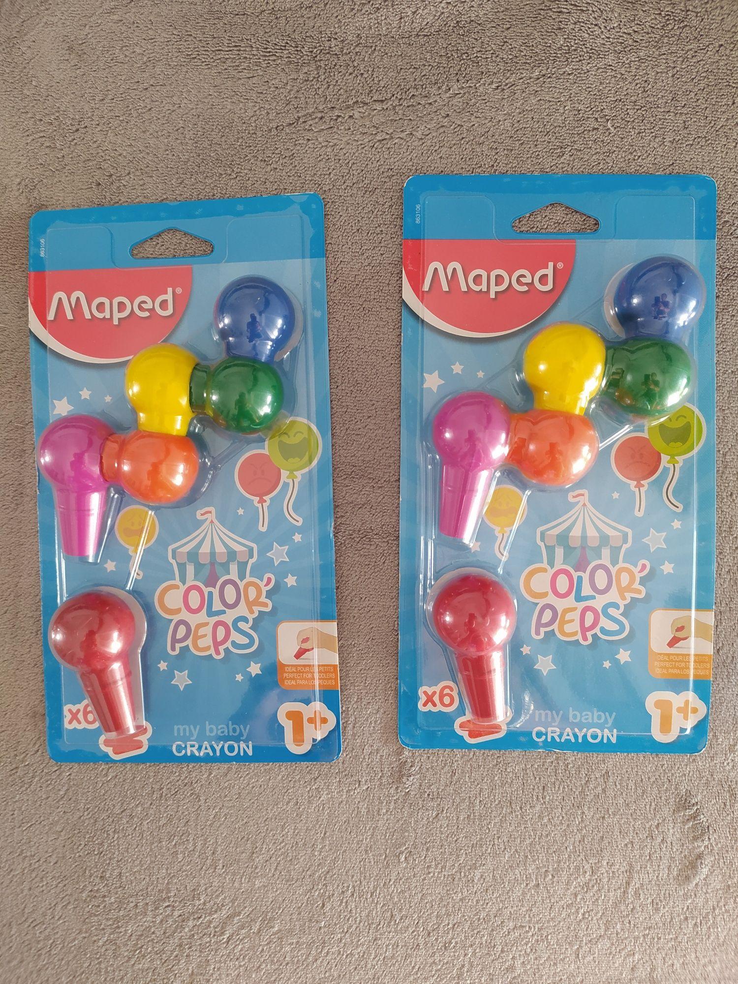Lápis de Cera Maped Color Peps-NOVOS