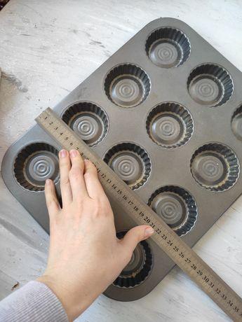 Противень для тарталеток, форма для кулича