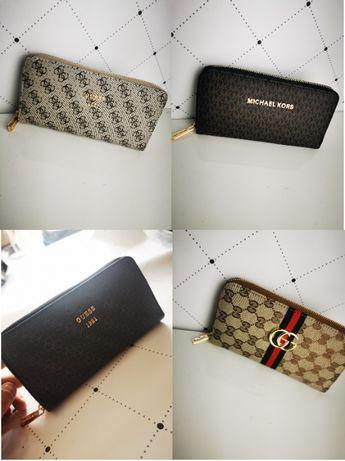Portfele Damskie Gucci Guess Monogram Premium