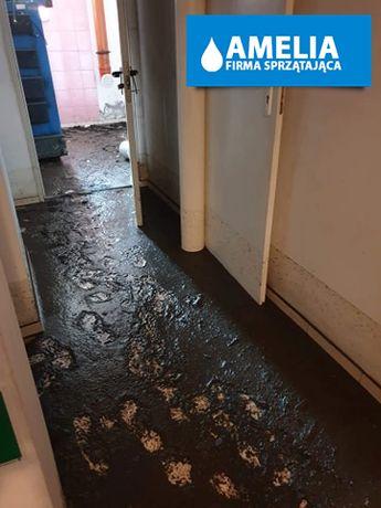 Sprzątanie po wybiciu kanalizacji szamba dezynfekcja cała Polska 24h