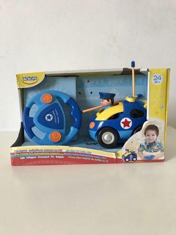 Машинка на пульте управления, Bebelino, полицейская. Со звуком, светом