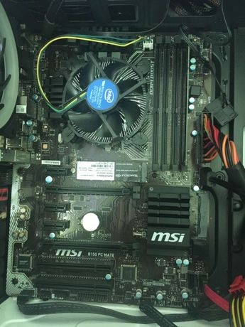 Продам комплект I5-6500+MSI B150 PC MATE