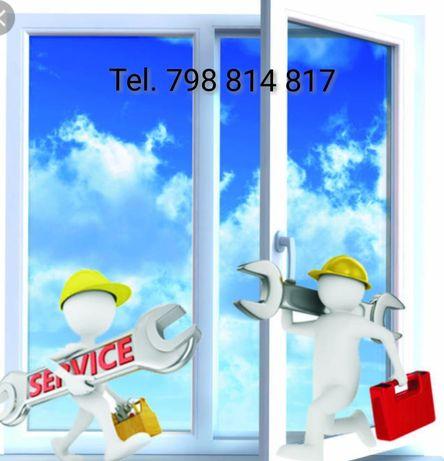 Serwis ! Naprawa ! Regulacja ! Konserwacja ! Okien i Drzwi PCV i Alu