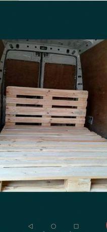 Stelaż z Palet Drewnianych Euro-Epal