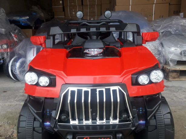 Auto na akumulator Terenowe z napędem 4X4