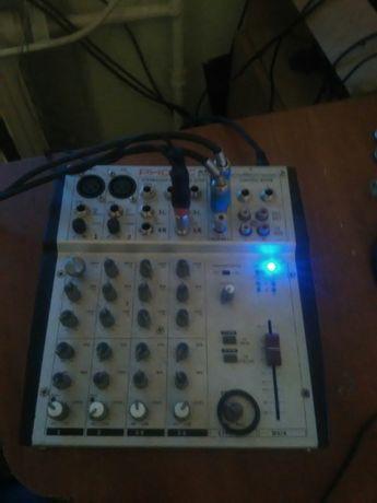 Микшерский пульт PHONIC AM220
