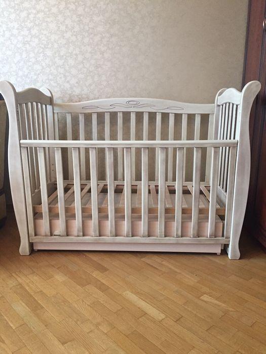 Дитяче ліжечко, детская кроватка «Верес» Луцк - изображение 1