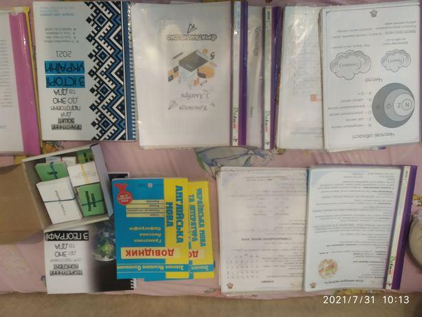 Продам материалы для ЗНО укр яз/лит-ра, математика, география, англ