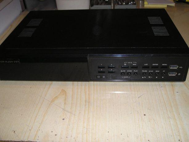 rejestrator AVTECH AVC-DR042 do monitoringu wraz z 3 kamerami