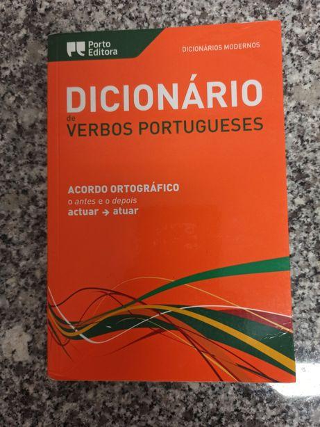 Dicionário verbos portugueses