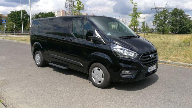 Wypożyczalnia wynajem busów busa z Ford Transit Custom AUTOMAT 8, 9 os