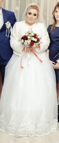 Свадебная шубка 46 размер