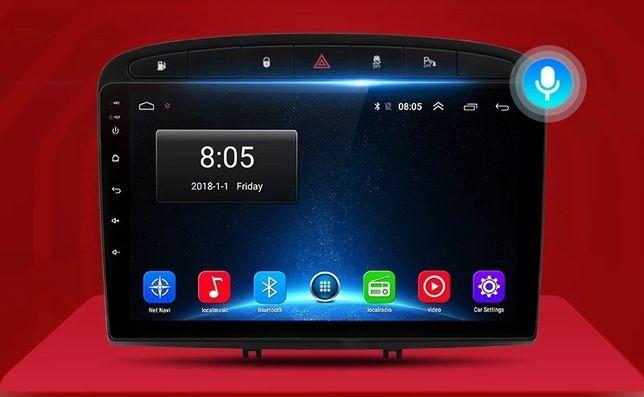 Peugeot Rádio Android 9 Wi-fi Bluetooth GPS USB para PEUGEOT