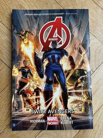Komiks Marvet Świat Avengers Opena Kubert