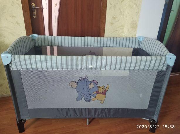 Манеж для ребенка, дитяче ліжечко, для дитини з лазом, прямоугольный
