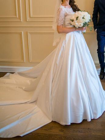 ТОРГ ТЕРМІНОВО Весільна сукня плаття свадебное платье 2в1 трансформер