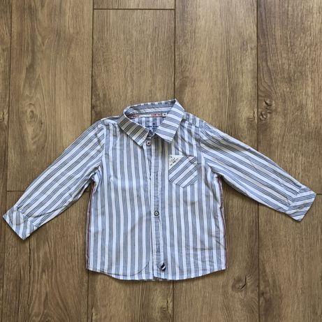 Рубашка tom tailor, tommy hilfiger 2 года 86-92 см