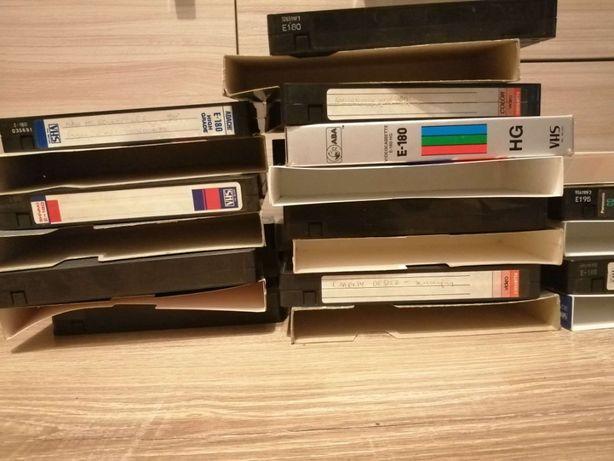 VHS -Y Kasety 50 szt