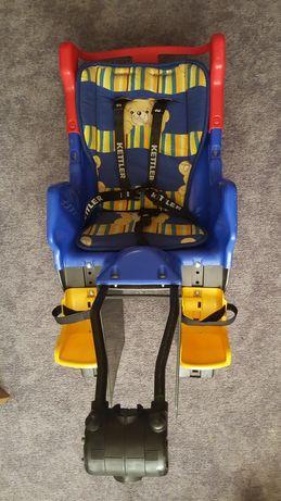 Fotelik rowerowy Kettler Teddy, krzesełko rowerowe do 22 kg