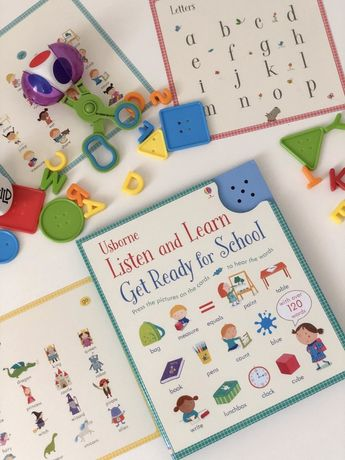 Listen and learn Get ready for school,Usborne