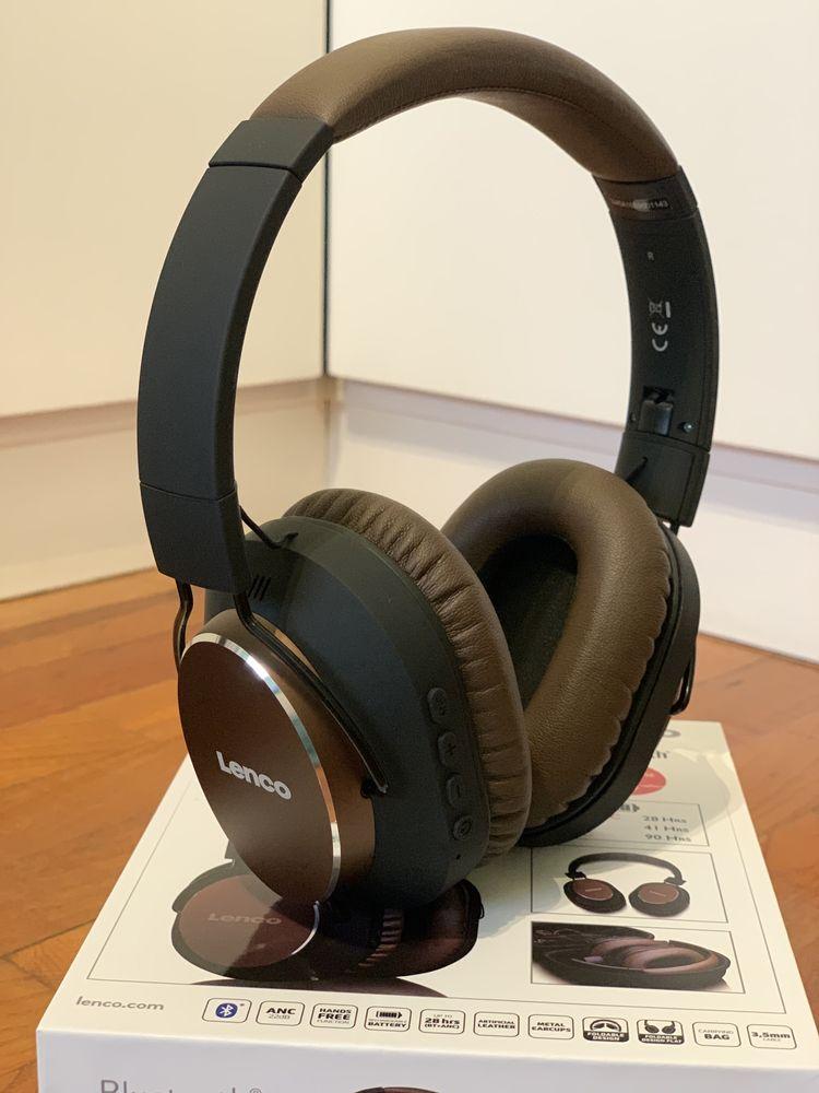Auscultadores (headphones) bluetooth com active noise cancelling-Lenco
