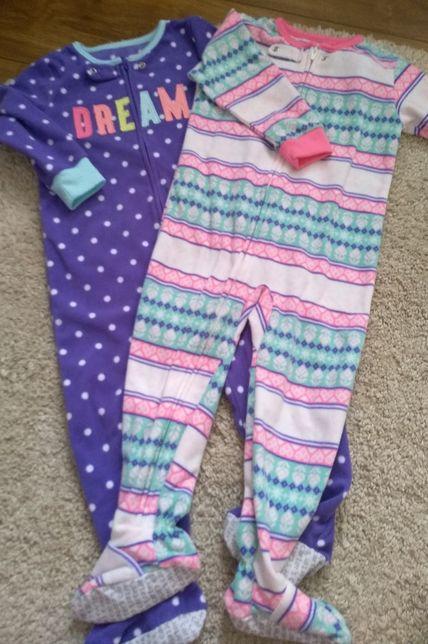 Piżamki,śpiochy,piżamy Carter's r.92