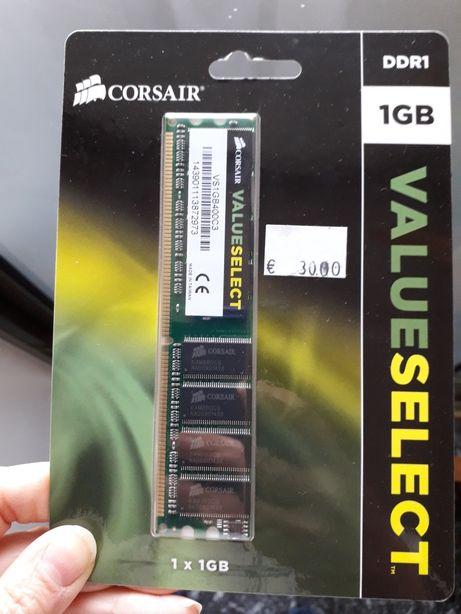 Memória 1 gb para computador value select corsair