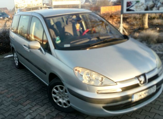 Peugeot 807 2.2hdi || Klima || Alu || 7-osób || MEGA OKAZJA