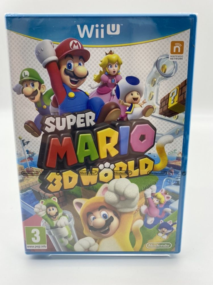 Super Mario 3D Worlds Nintendo WiiU